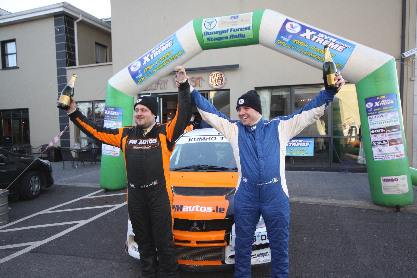 Purcell Powers to Donegal Forest Rally Victory!