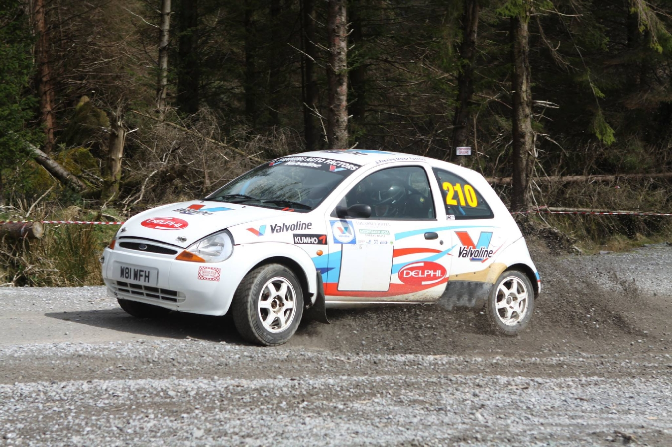 Take Two for the 2015 Valvoline Irish Forest Championship!