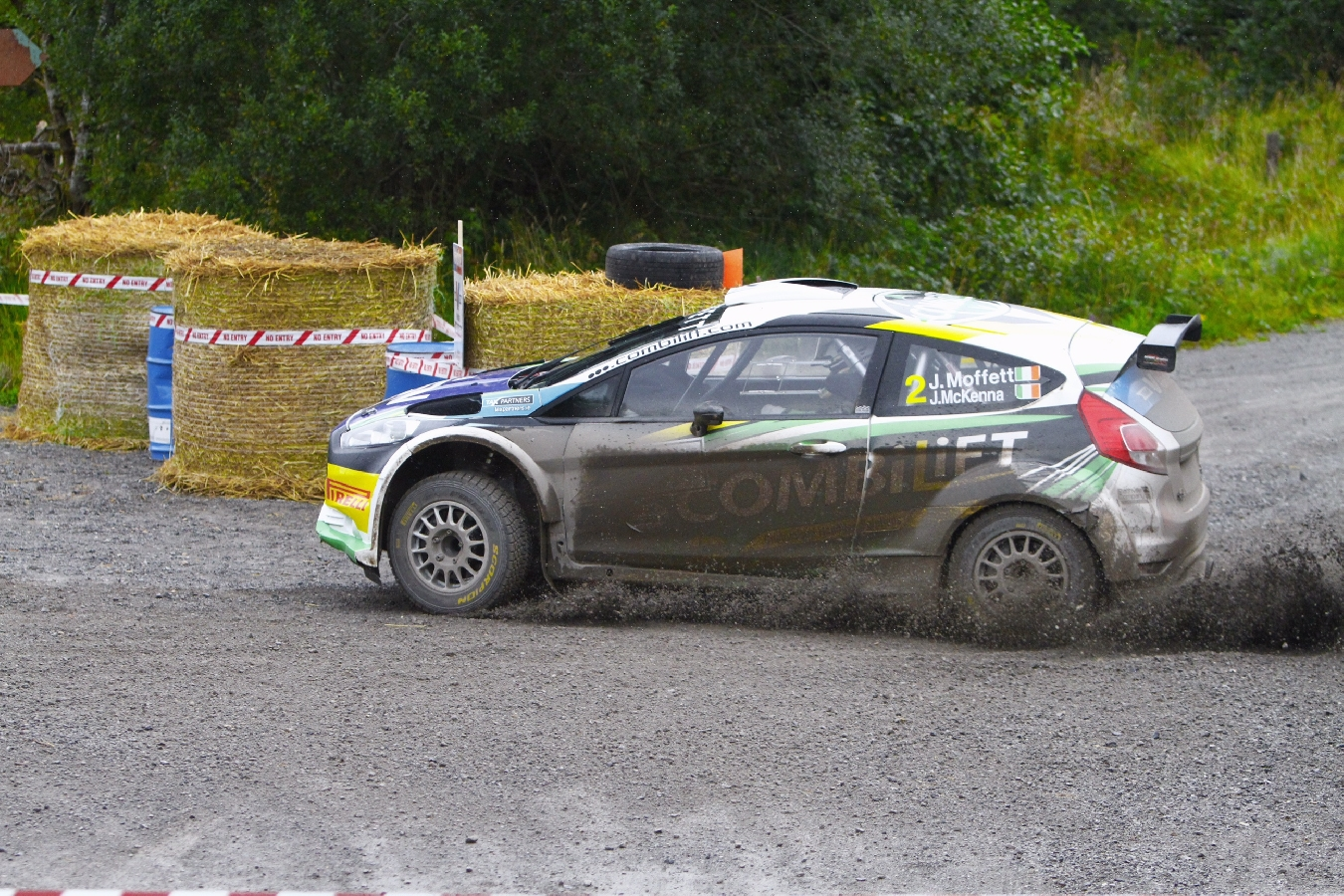 Moffett's Family Tie on Lakeland Stages Rally! Valvoline Motorsport Ireland National Forest Championship Round Five