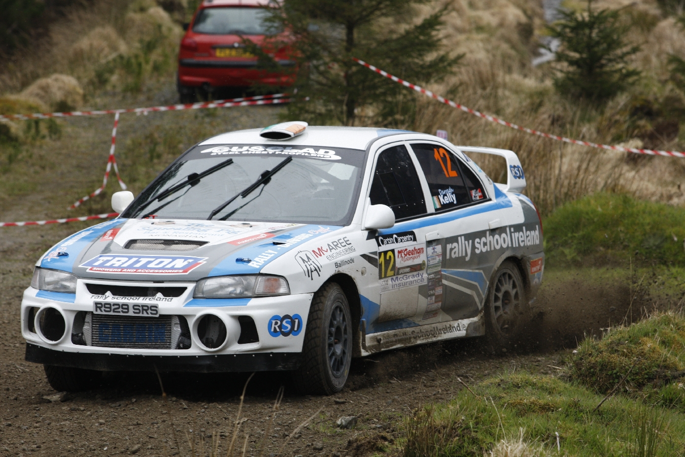 Slick Performances Ensure Carbin Leads Valvoline Series Into Cork! Valvoline Motorsport Ireland National Forest Championship Round Four.