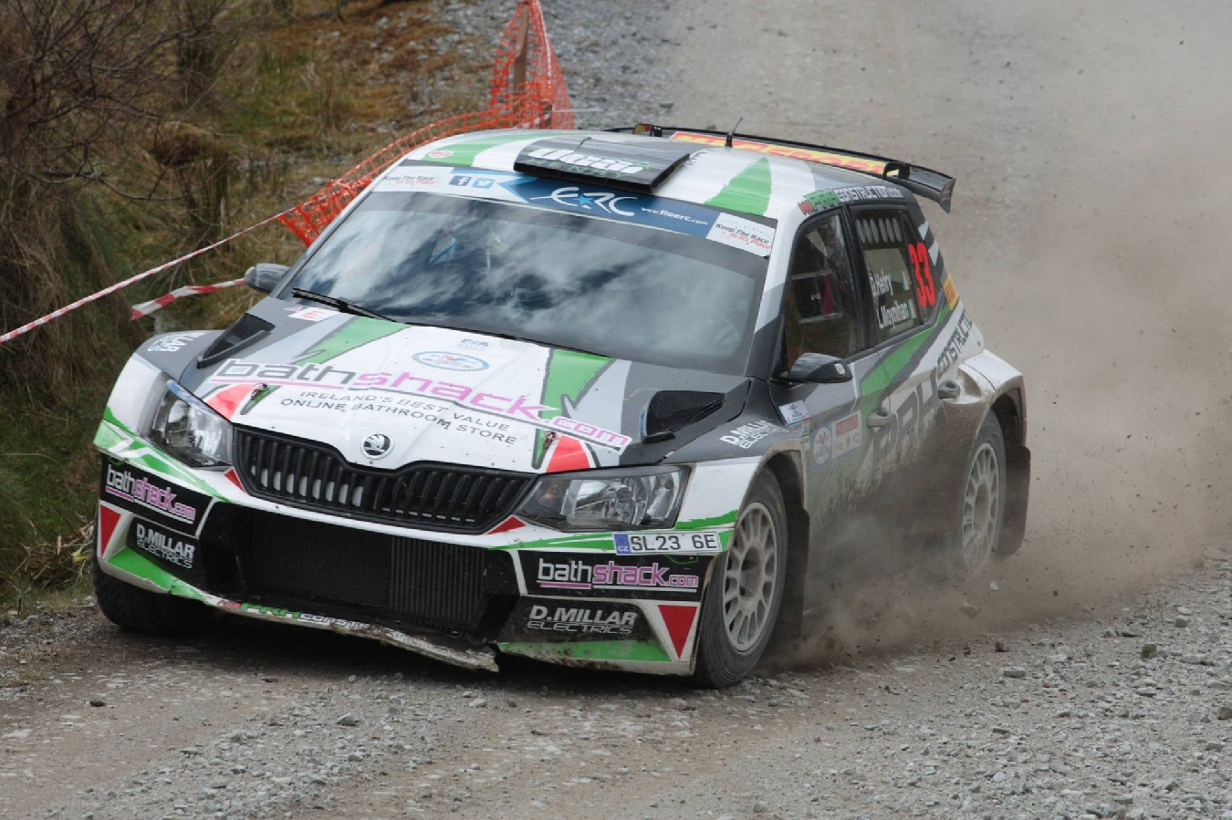 Finish Crucial For Desi On Glens of Antrim Finale! Valvoline Motorsport Ireland National Forest Championship Round 7 Preview