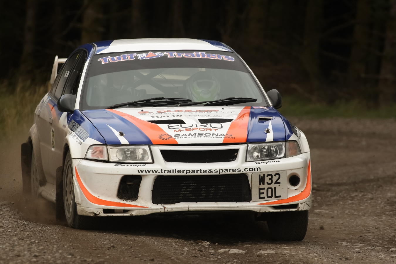 Enniskillen Press Release Two Trailer Parts and Spares Lakeland Stages Rally 2017