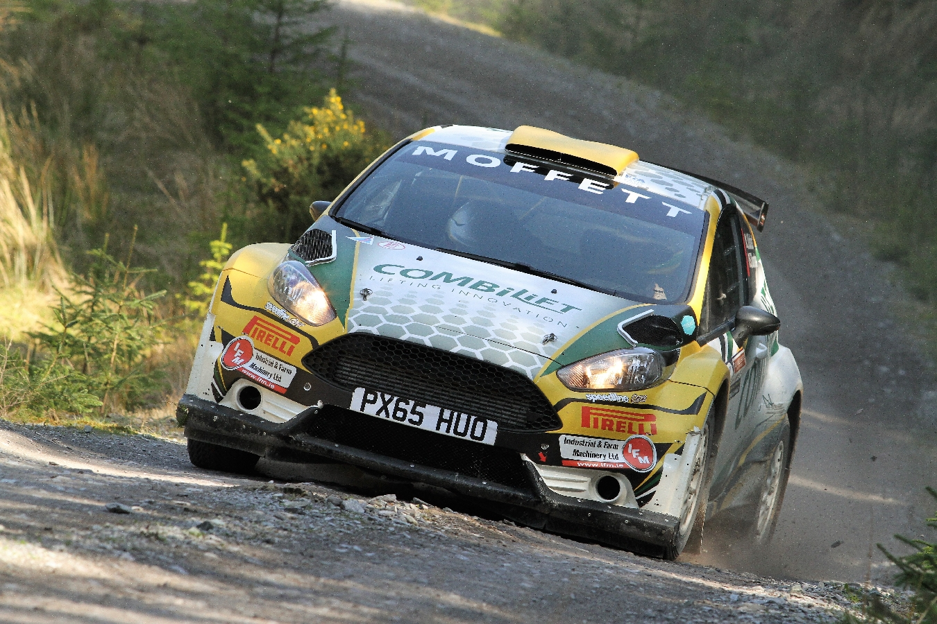 Keith is the Moonraker King - Josh Rakes in the Points! Valvoline Motorsport Ireland National Forest Rally Championship - Round 2
