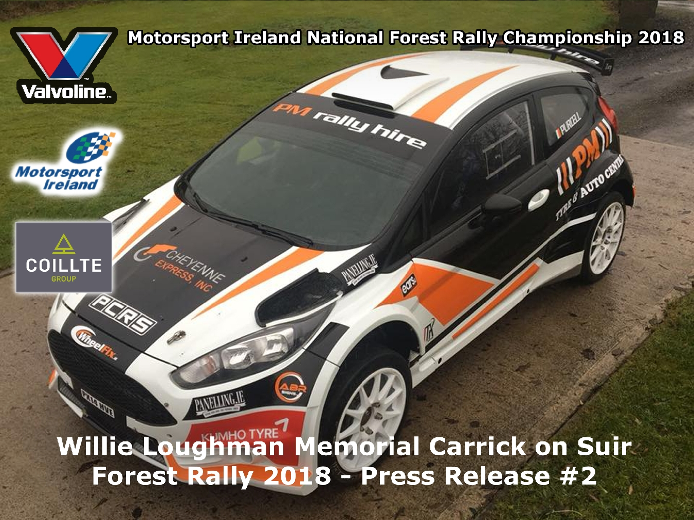 Entries roll in for round 1 of the Valvoline Motorsport Ireland National Forest Rally Championship!