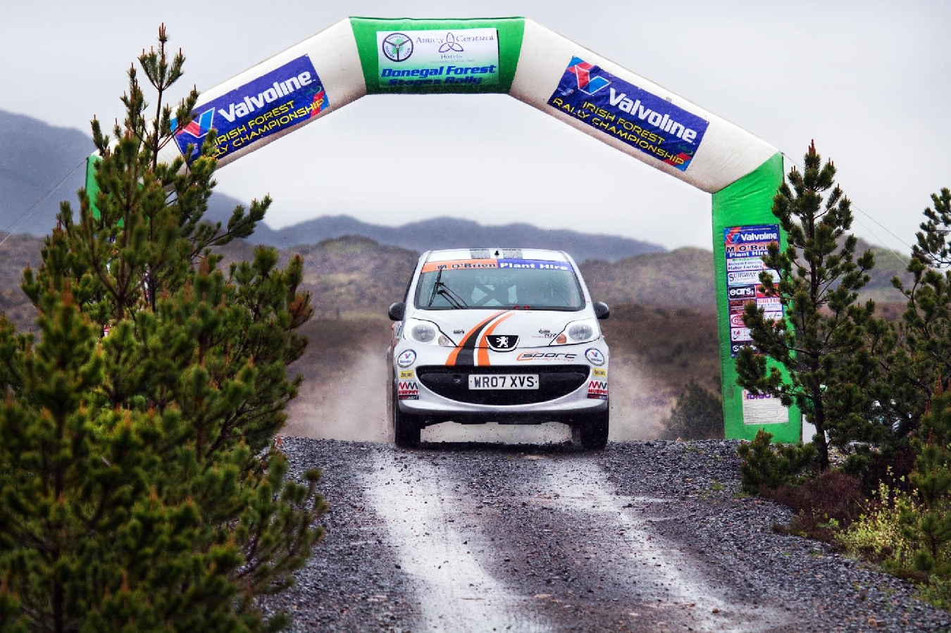 Round 4 2019 Donegal Forest Rally