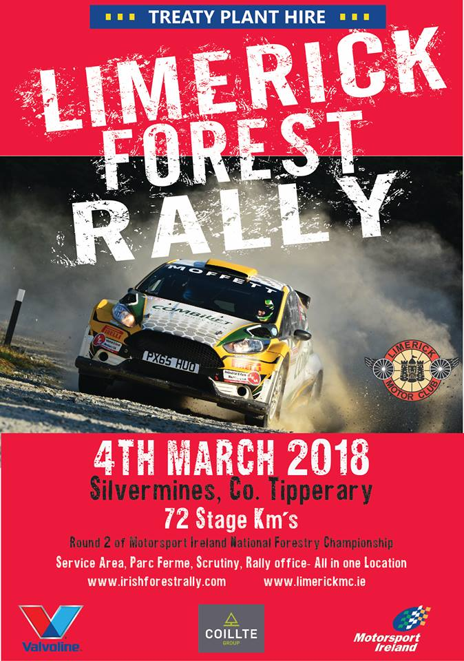 Round 2 Limerick Forest Rally