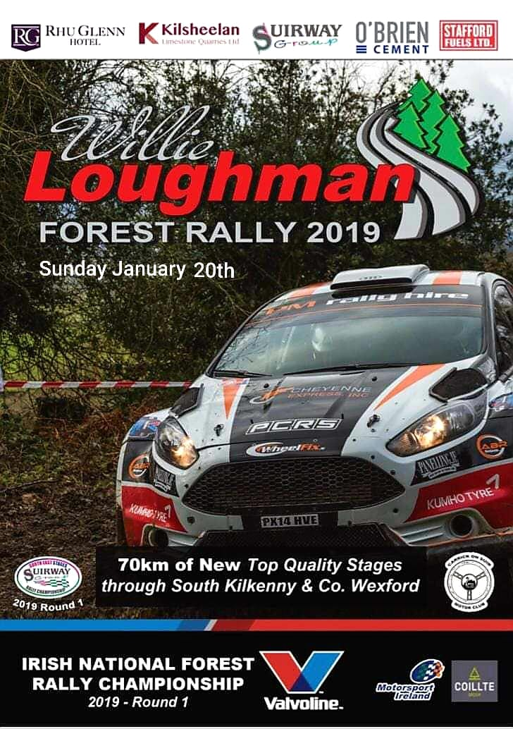 Round 1 2019 Willie Loughman Forest Rally