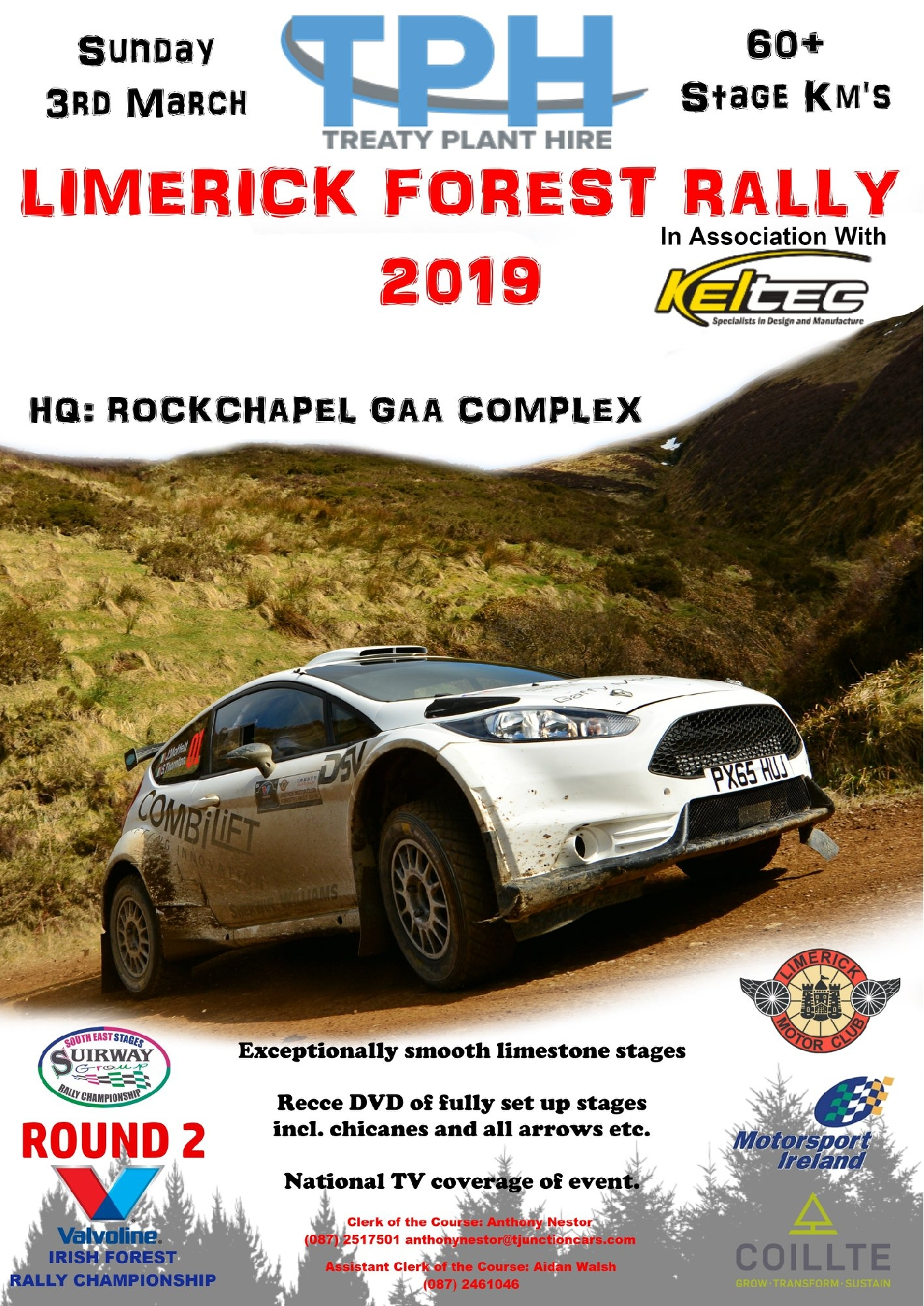 Round 2 2019 Limerick Forest Rally