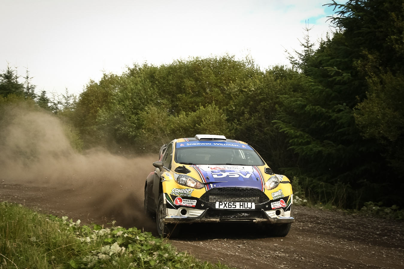 Moffett takes Forestry Title despite late drama
